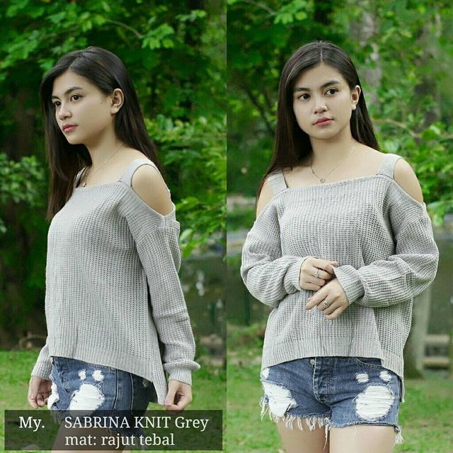 Sabrina-Knit-Grey-Grosir-Sabrina-Murah-1