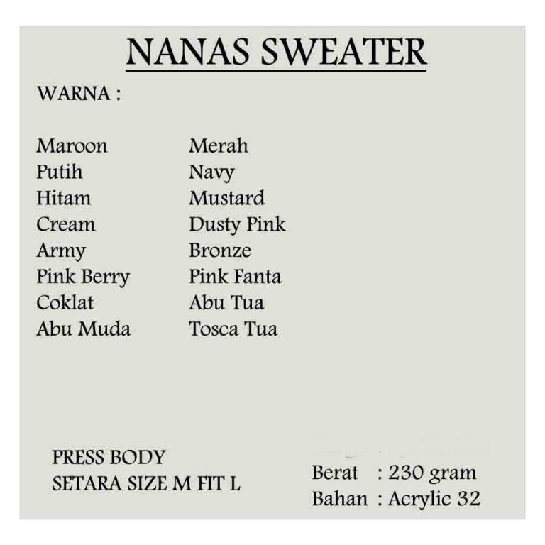 nanas sweater 6